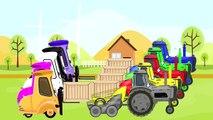 McQueen Tracteur d'Apprendre les Couleurs Et de dessins animés pour Enfants et Bébés | Kolory TRAKTORY dla DZIECI