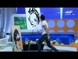 اسرع رسام فى مصر يبهر الإعلامية رشا مجدى على الهواء