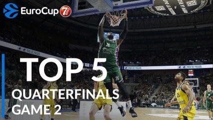 Quarterfinals Game 2: Top 5 Plays