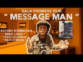 BIKIIIIN MALU!!!! Leo Leak Gala Premier Message Man