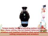 Waste Maid USWM658 Premium 114 HP Food Waste Disposer