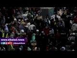 صدى البلد | انتشار الباعة الجائلين في ساحة مسجد الحسين