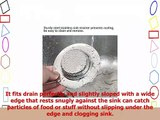 ANPHSIN 4 Packs Kitchen Sink Strainer Stopper  44 Diameter Stainless steel Drain Filter