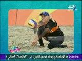 شاهد سيدات هولاندا للكرة الشاطئية يتضامنون مع منتخب الكرة ويرتدون ملابس منتخب مصر | ست الستات