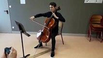 Bar-le-Duc :  lauréat d'un concours, il gagne un violoncelle