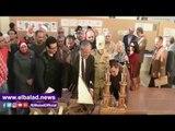 صدى البلد   محافظ المنيا يفتتح معرض للمنتجات اليدوية بمكتبة مصر ضمن احتفالات العيد الوطني