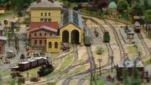 Z Scale Amazing Model Railway with Micro Trains | Pilentum Television - The world of model trains