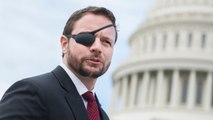 Texas Representative Dan Crenshaw Shows Off 'Captain America' Glass Eye