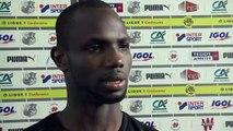 Après le match Amiens SC - Nîmes, Moussa Konaté