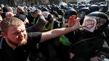 A Kiev, l'extrême droite contre la corruption