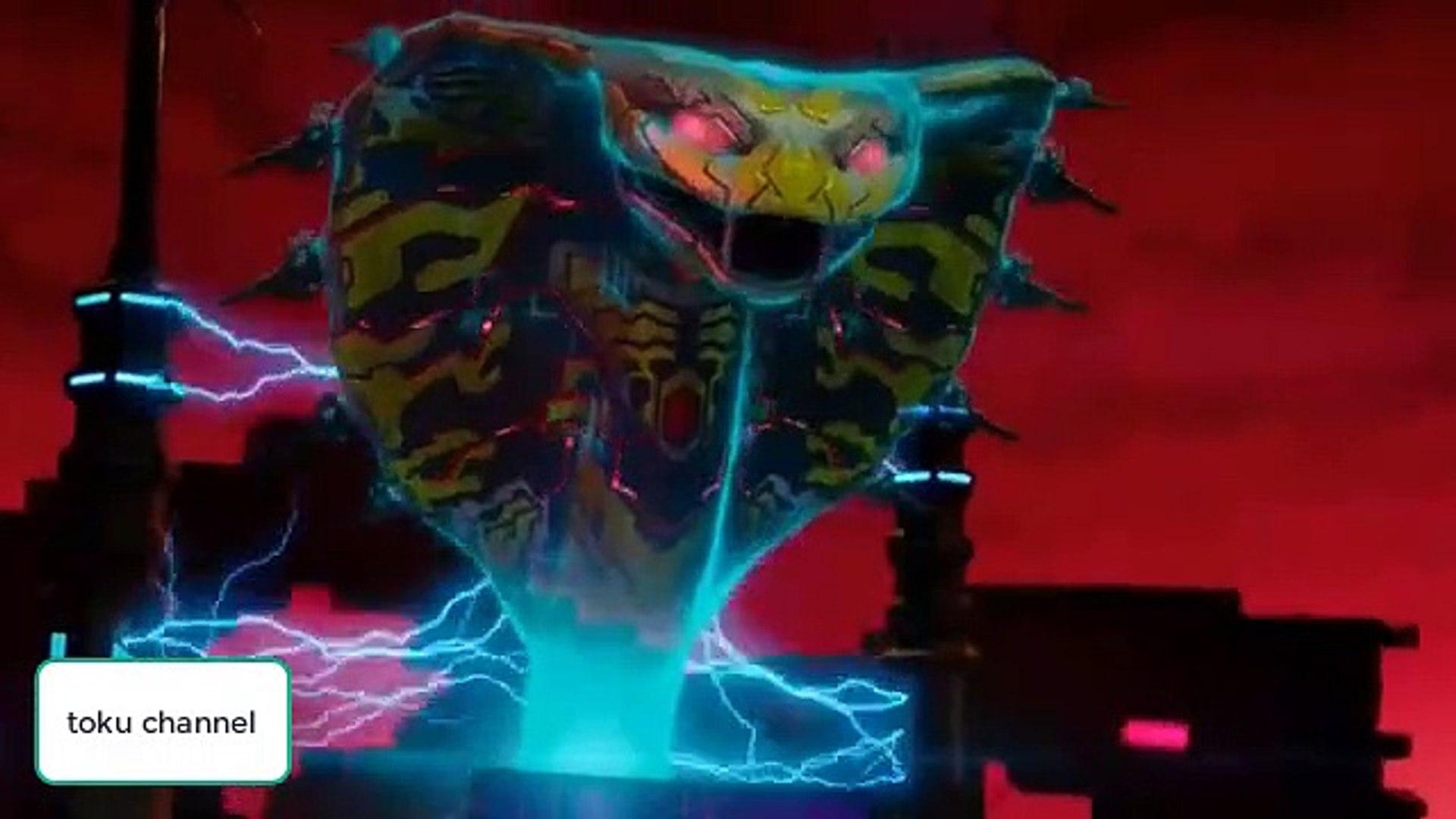 Power ranger beast morpher ep 02 raw