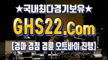 국내경마 ζ (GHS 22. CoM) ▣ 일본경마