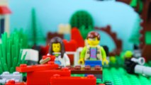LEGO City Treehouse STOP MOTION LEGO Treehouse Brick Building | LEGO City | By Billy Bricks