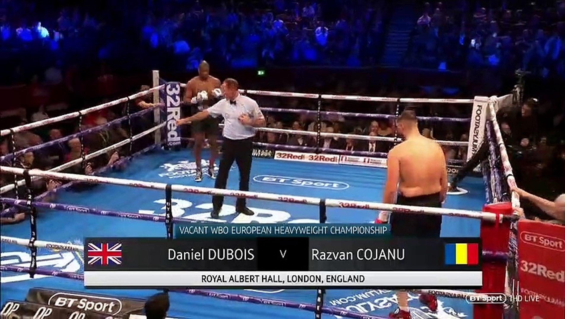 Daniel Dubois vs Razvan Cojanu (08-03-2019)