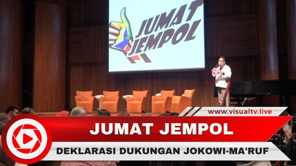 Jumat Jempol, Cara Alumni Pelajar Se-Jabodetabek Dukung Jokowi-Ma'ruf
