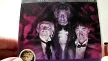 The Dr Who Three Doctors 40th Anniversary DVD Box Set with Corgi Model Car Bessie