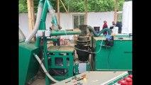 Fabrication de granules de la paille, luzerne, bois, ......