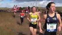 Cross-country - La course des juniors filles aux « France » de Vittel