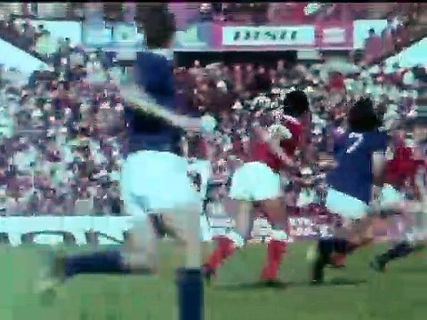 Eusébio a cores num Benfica-Belenenses de 1974