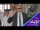 صدى البلد | محافظ المنيا يقود حملة لإزالة الإشغالات بحي غرب المدينة