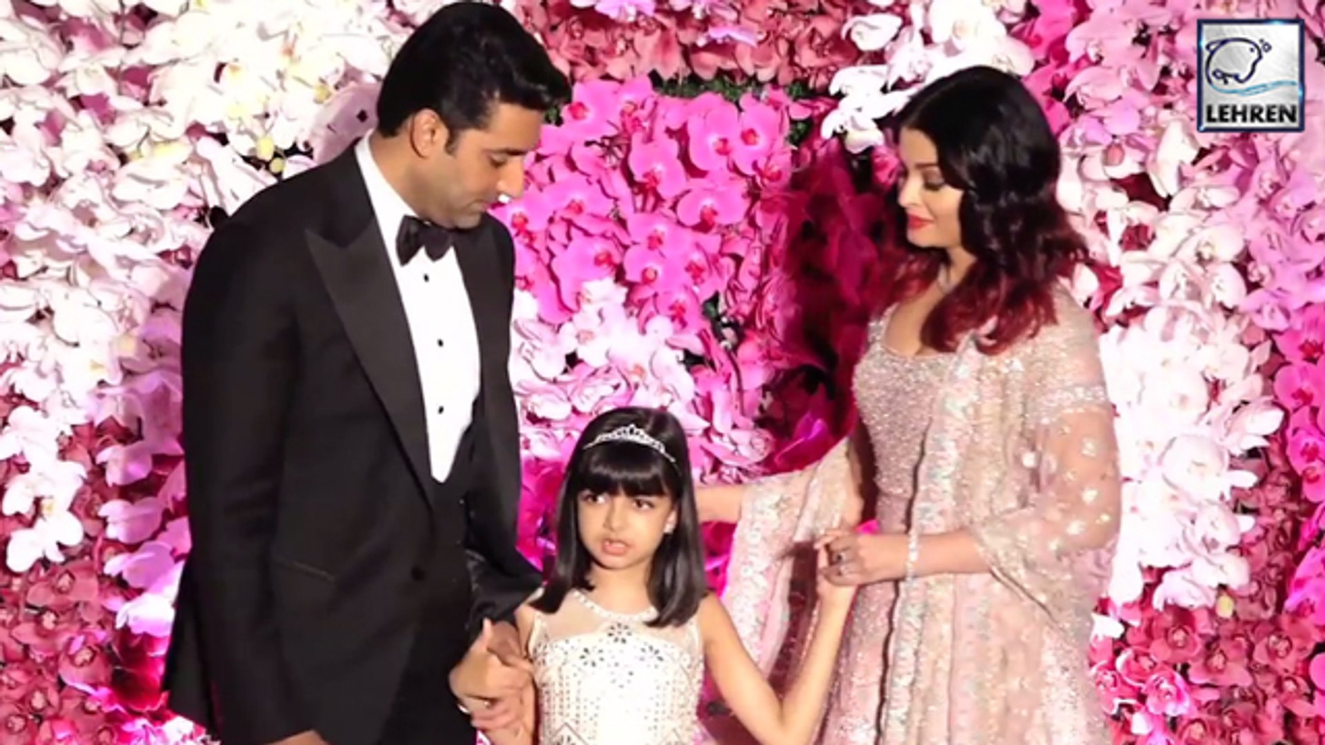 Aishwarya Teaches Daughter Aaradhya To Pose In Front Of Media Photographers