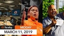 Sara Duterte calls Robredo 'fake VP'   Midday wRap