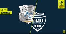 Résumé Amiens SC - Nîmes Olympique ( 2-1)