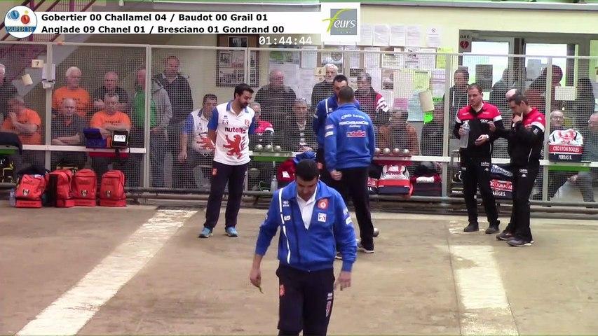 Quarts de finale, septième étape du Super  16 masculin, Feurs 2019