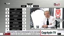 Beşiktaş 3-2 Konyaspor BJK TV gol anları & SON DAKİKA GOL SEVİNCİ