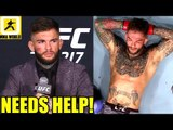 After 3rd straight KO Cody Garbrandt needs a sports Psychologist to control his emotions,Woodley