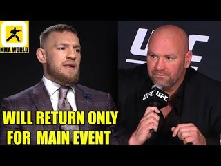 Conor Mcgregor is delaying fight with Donald Cerrone over Main Event slot?,Askren on Dana White