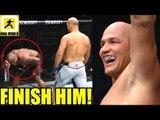 MMA Community Reacts to Crazy fight between Junior Dos Santos vs Derrick Lewis,UFC Wichita Results