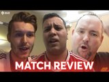 """WE'RE STILL ON TRACK!"" Match Reviews Arsenal 2 - 0 Manchester United"
