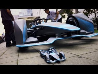 Making Of Street Level: A Miniature RC Masterpiece! - Formula E Full Documentary