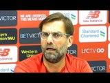 Jurgen Klopp Full Pre-Match Press Conference - Liverpool v Burnley - Likes Position Liverpool Are In