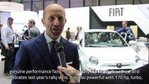 Fiat - Intervista al Salone di Ginevra con Luca Napolitano