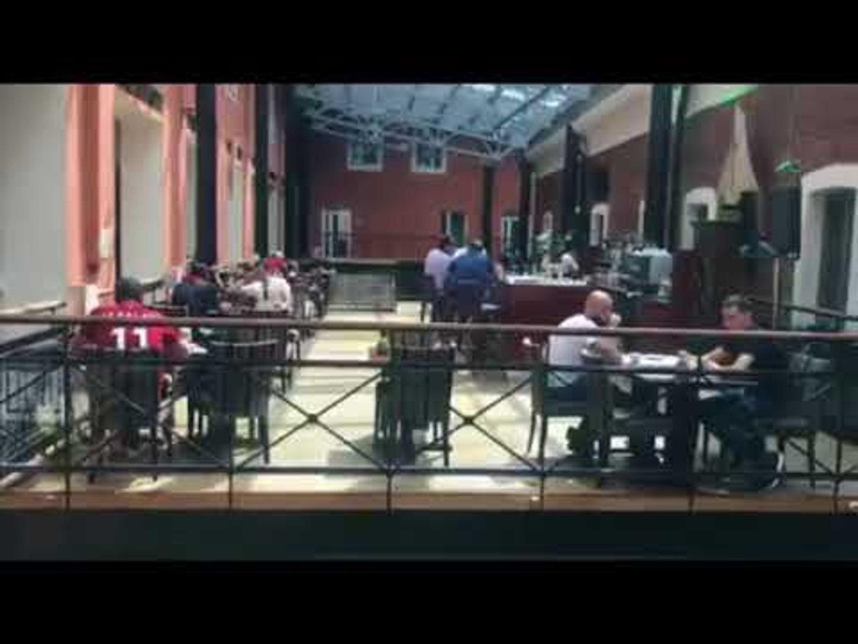 صدى البلد - وليد عبد السلام ولقطات خاصة من فندق المنتخب المصري