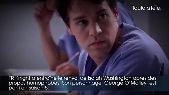 Grey's Anatomy : 7 personnages disparus  de la série culte de TF1