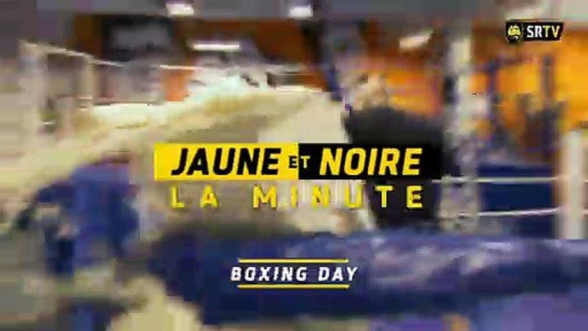 Minute Jaune et Noire - Boxing Day