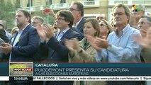 Presenta Carles Puigdemont candidatura a elecciones europeas