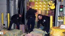 Authorities Seize 3,200 Pounds Of Cocaine Estimated To Be Worth $77 Million
