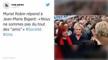 """Muriel Robin répond à Jean-Marie Bigard: «Nous ne sommes pas du tout des """"amis""""»"""