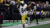 Raiders to Acquire Steelers Star WR Antonio Brown