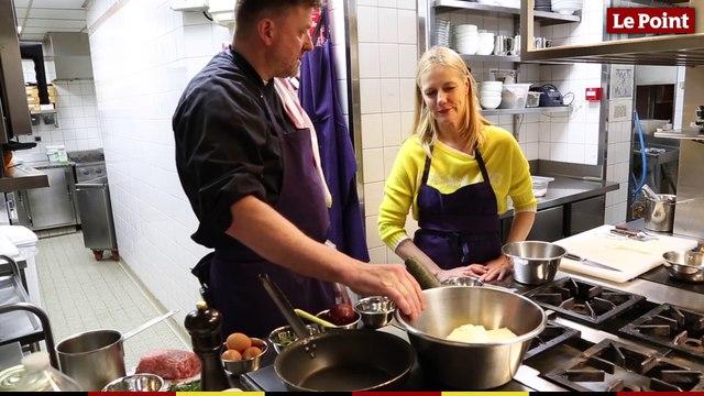 Christine and the Chefs #9 : kefta de veau, encornet et sabaillon aux épices de Jean-Marc Notelet