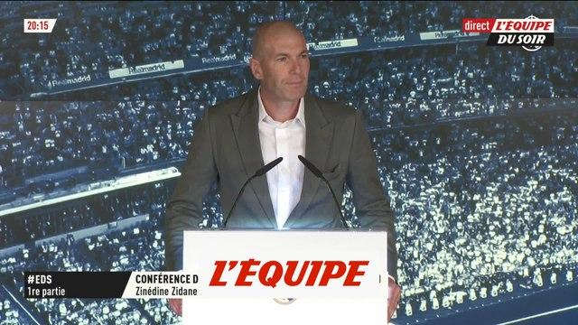 Zidane «Très content de rentrer à la maison» - Foot - ESP - Real Madrid