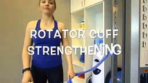 Shoulder Rotator Cuff Strain Injuries: In / Out Rotation With Resisted Movement