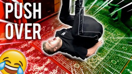 PUSHED MY BRO OVER 100 TIMES IN 1 HOUR - HEALTH HAZARD