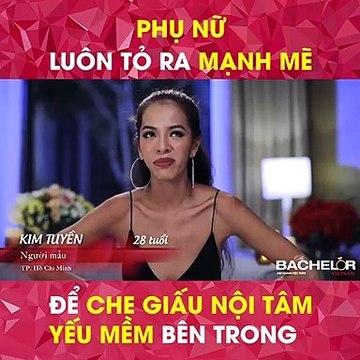 Bachelor Vietnam - Tập 1 - Phụ nữ luôn tỏ ra mạnh mẽ để che dấu nội tâm yếu mềm bên trong