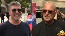'AGT': How Simon Cowell and Howie Mandel Feel About Julianne Hough and Gabrielle Union as New Judges
