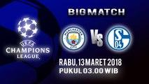 Jadwal pertandingan Liga Champions Manchester City Vs Schalke 04, Dini Hari Nanti